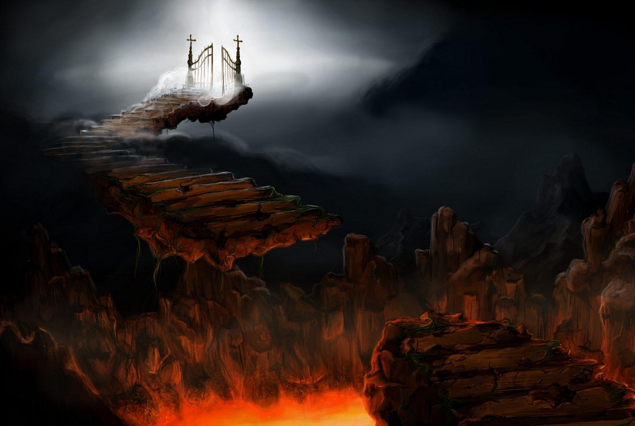 Небеса и ад картинки